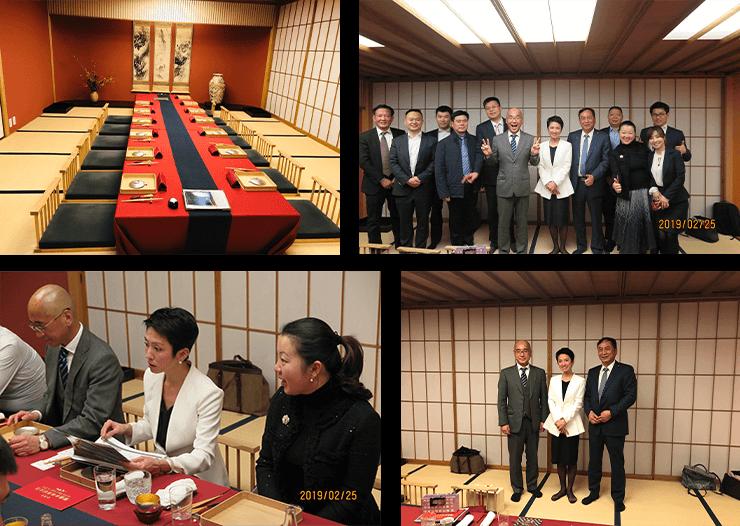 夜、立憲民主党副代表兼参議院幹事長蓮舫議員と夕食交流が開かされ、活発な議論ができました。