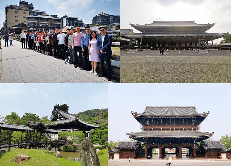 6月21日、京都を中心に観光しました。企業だけではなく景色も通して京都の魅力を感じ取っています