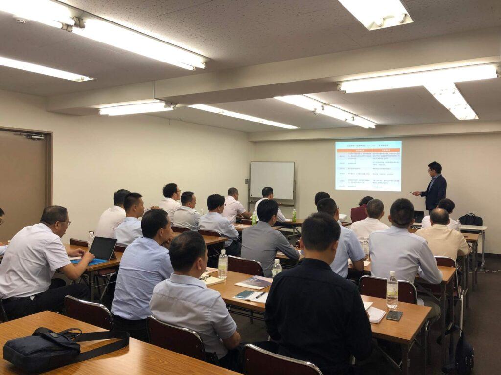 弊社代表は中国航空工業集団訪日団向けに講演